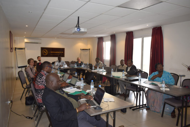 AUC CHAIRED CSC MEETING